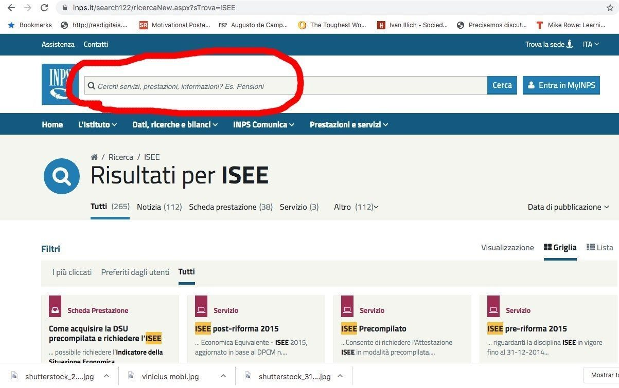 Come Richiedere l'ISEE Online